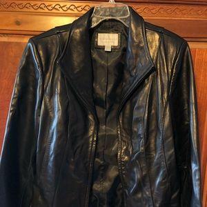 Worthington genuine Lambskin Leather Coat